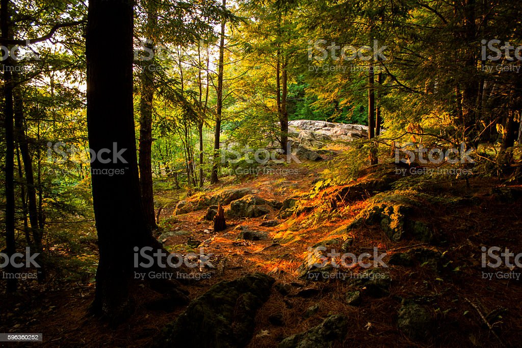 Sunset Rock royalty-free stock photo
