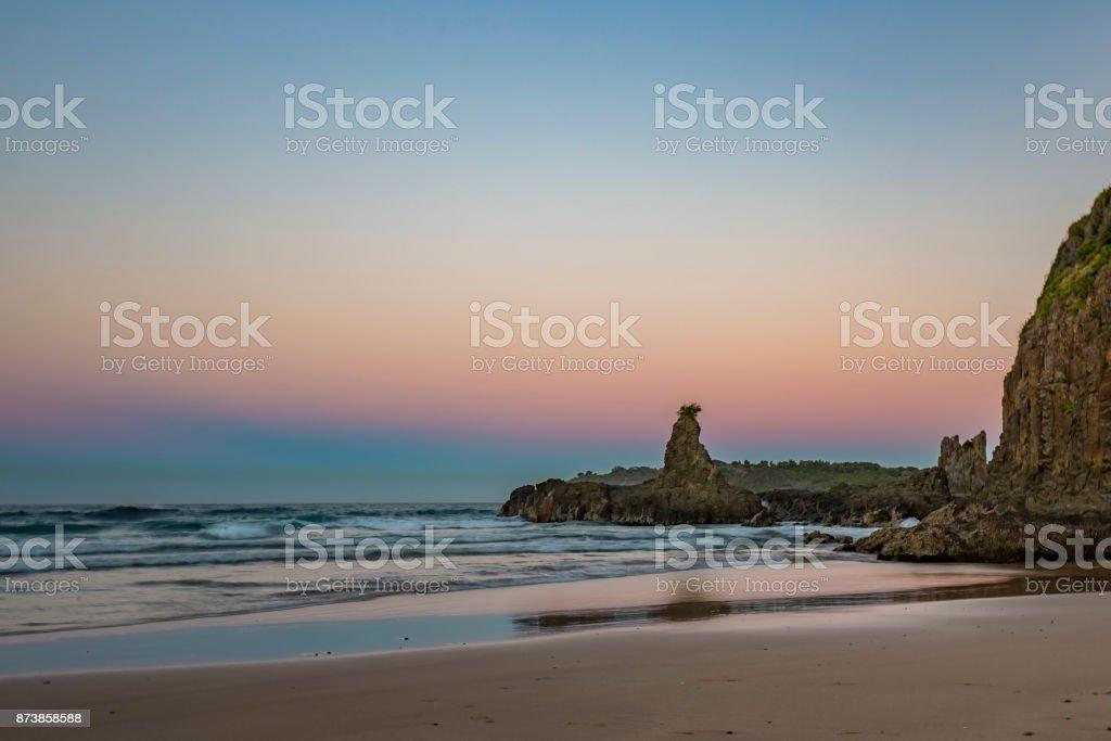 Sunset Seascapes stock photo