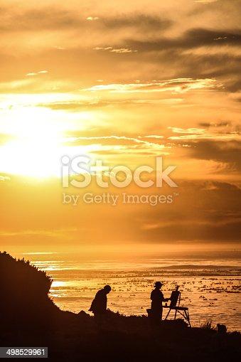 585509074 istock photo Sunset Silhouette 498529961