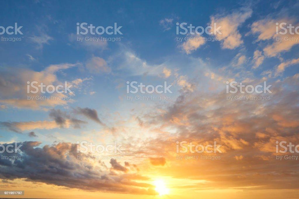 sunset sky background - Стоковые фото Абстрактный роялти-фри
