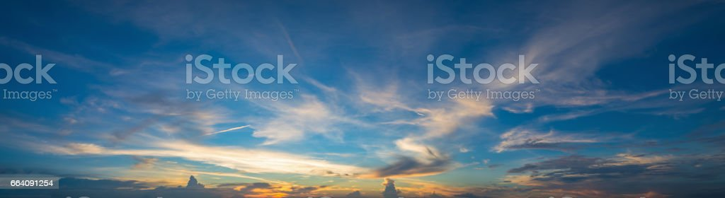 sunset sky, clouds landscape, dramatic sunset and sunrise sky.