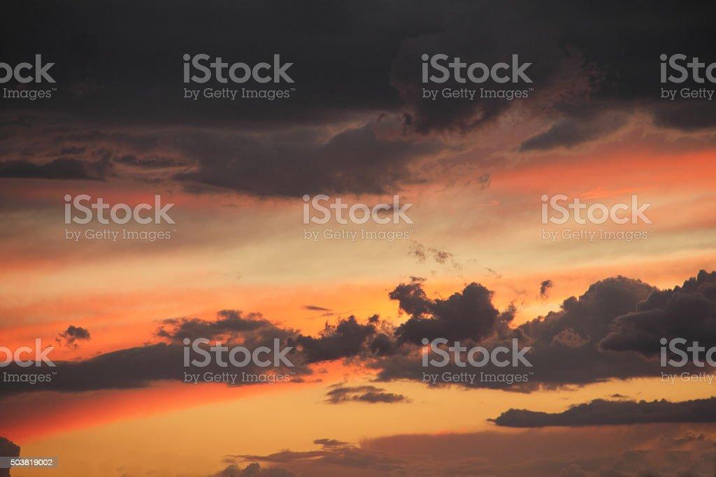 Beautiful sunset in Sedona,Arizona.