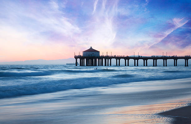 Top 60 Manhattan Beach Pier Stock Photos Pictures And Images Istock