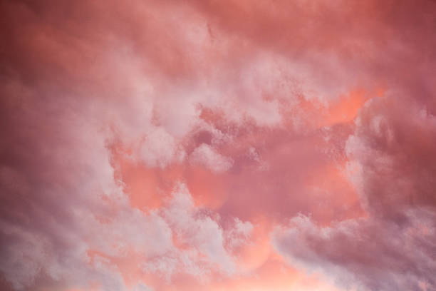 sunset sky inspiration new mexico stock photo