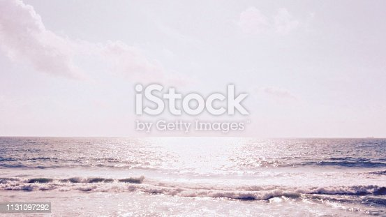 917116520 istock photo Sunset Sky on the beach 1131097292