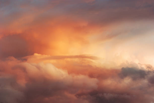 Sunset Sky over clouds Landscape Travel serene tranquil view flying beautiful natural colors Sunset Sky over clouds Landscape Travel serene tranquil view flying beautiful natural colors atmospheric mood stock pictures, royalty-free photos & images