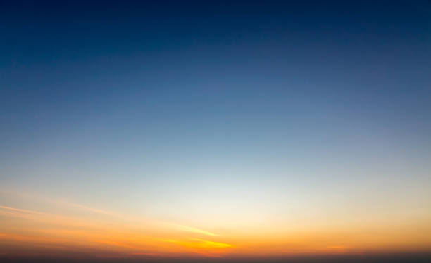 sunset sky - dusk stock pictures, royalty-free photos & images