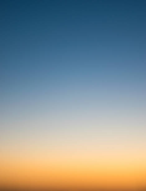 Sunset sky. stock photo