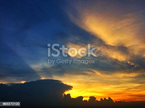 Sunset Sky With Clouds - Stockowe zdjęcia i więcej obrazów Abstrakcja