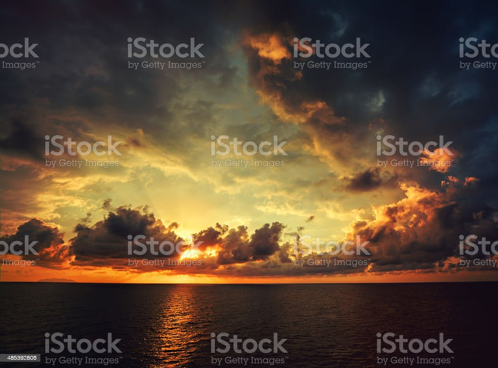 Sunset stock photo stock photo