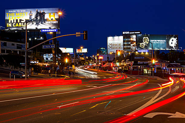 Sunset Strip Comes to Life At Night