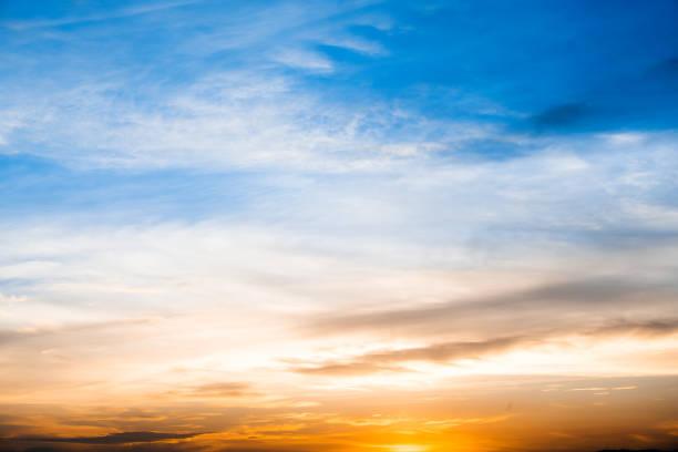 日落 / 日出雲、 光線與其他大氣的影響 - 天堂 個照片及圖片檔