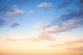 istock Sunset / sunrise with clouds, light rays and other atmospheric effect 835370890