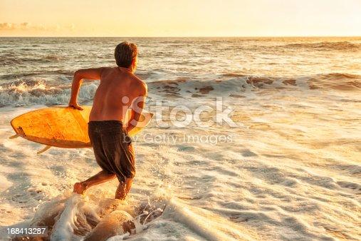 istock Sunset Surfer 168413287