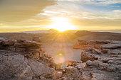 Sunset, Valle de la Luna (Moon Valley), Atacama Desert near San Pedro de Atacama,Chile