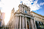 istock Sunset View of San Carlo Square and Twin Churches, Turin 913567644