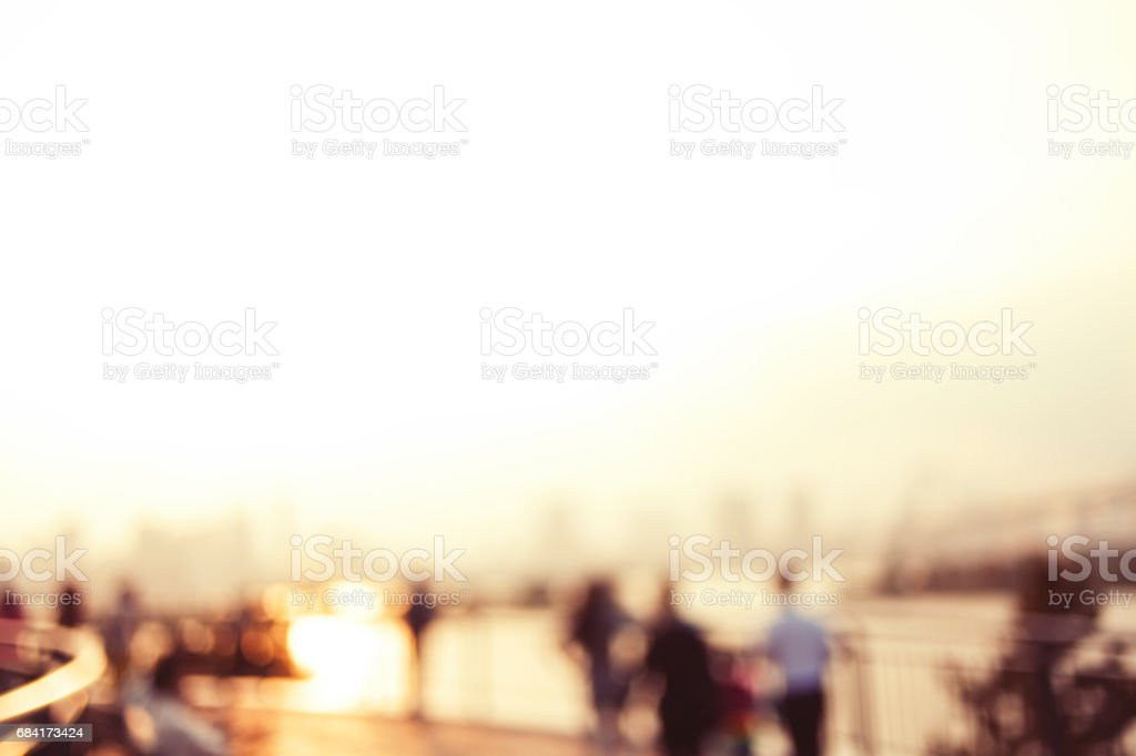 Sunset view royalty-free stock photo