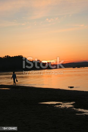 Sunset walk.