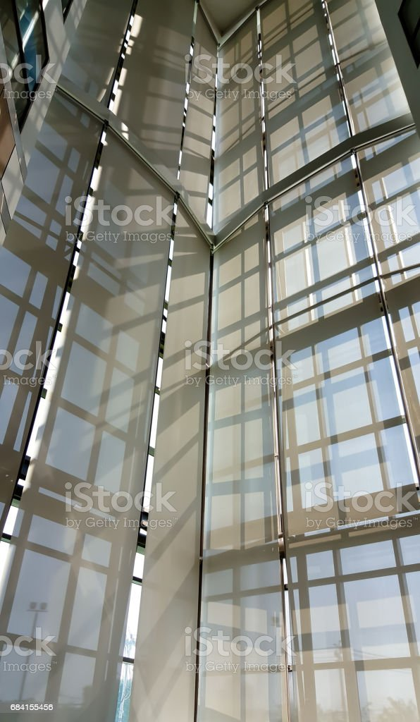 Sunshade building foto stock royalty-free