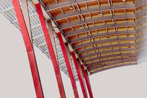 Sombrilla de estructura de acero - foto de stock
