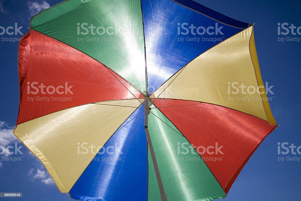 Aletta parasole foto stock royalty-free