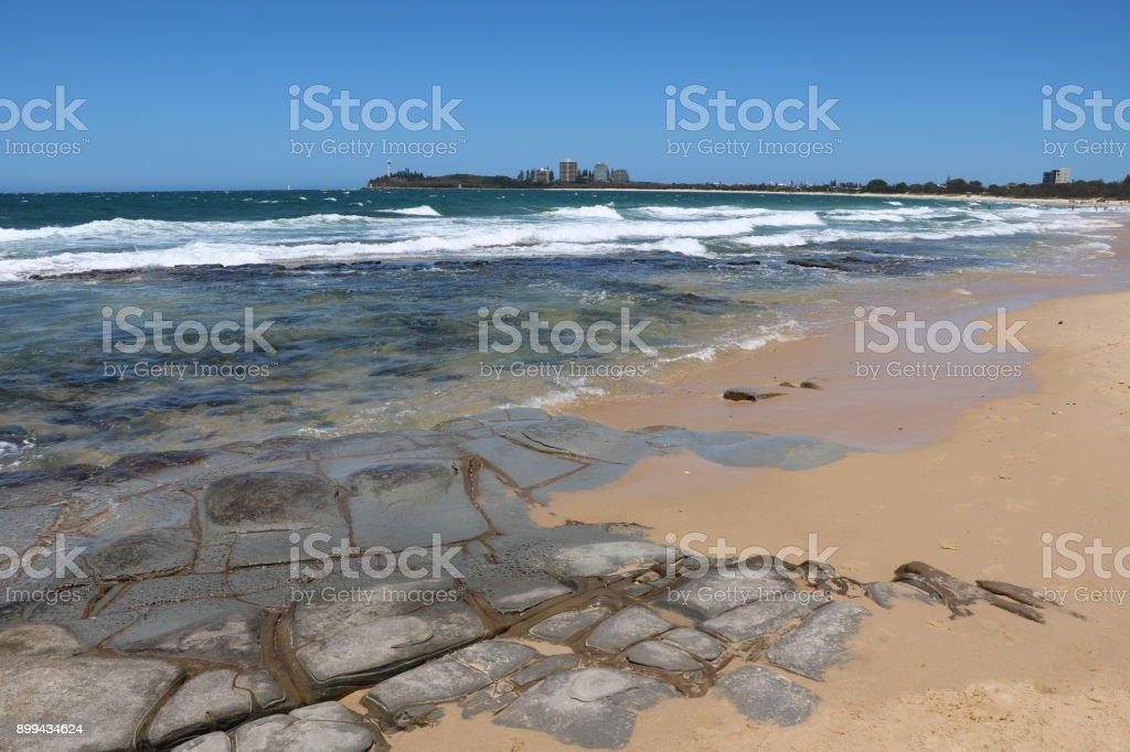Sunshine Coast in summer in Queensland, Australia stock photo