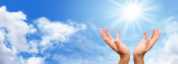Sunshine Healing website header stock photo