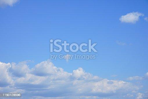 157673091istockphoto Sunshine in clean sky 1190128596