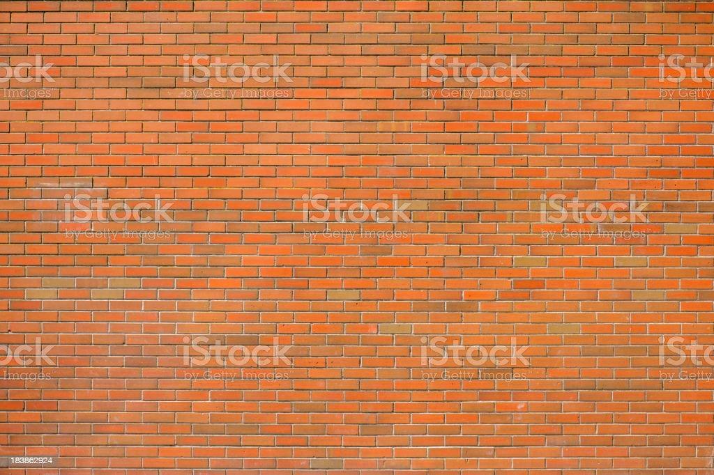 Sunshine on brick wall royalty-free stock photo
