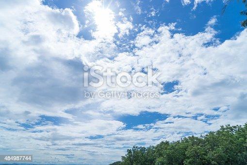 157673091istockphoto Sunshine Through the Cloud 484987744