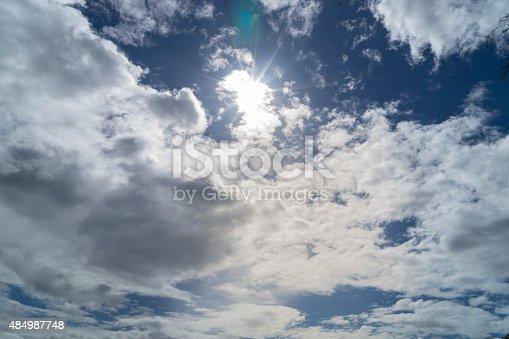 157673091istockphoto Sunshine Through the Cloud 484987748