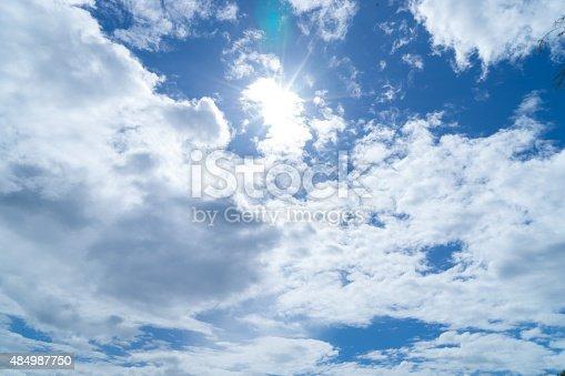 157673091istockphoto Sunshine Through the Cloud 484987750