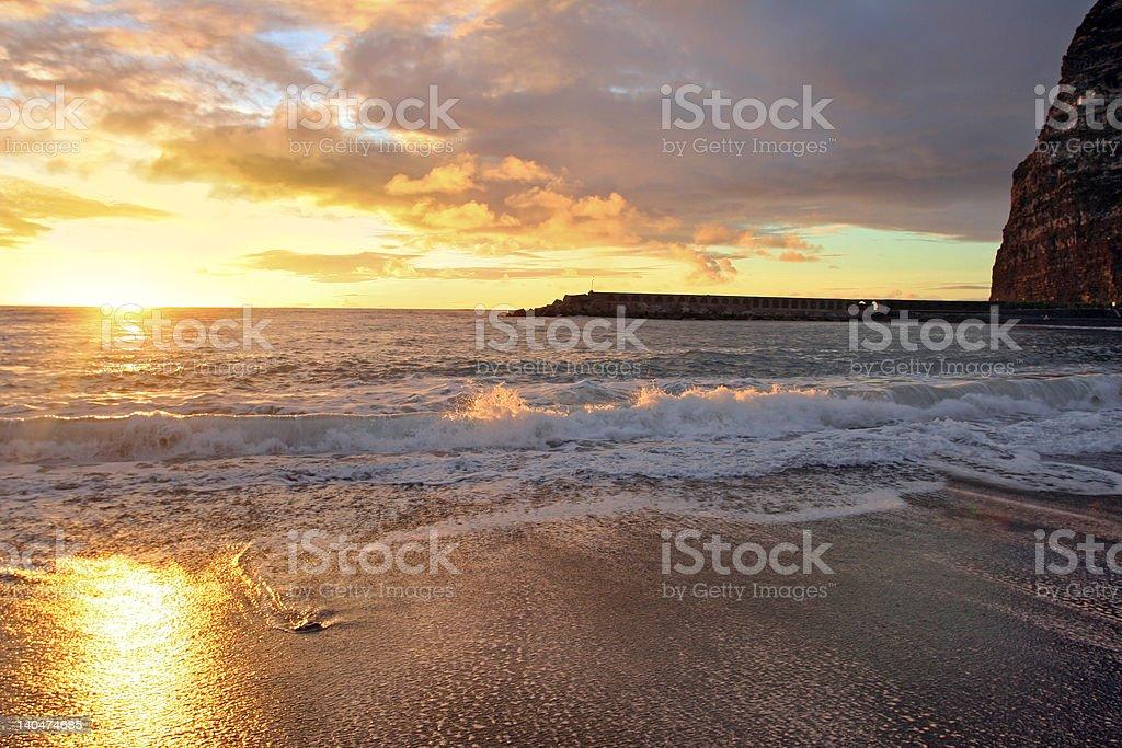 Sunwaves royalty-free stock photo