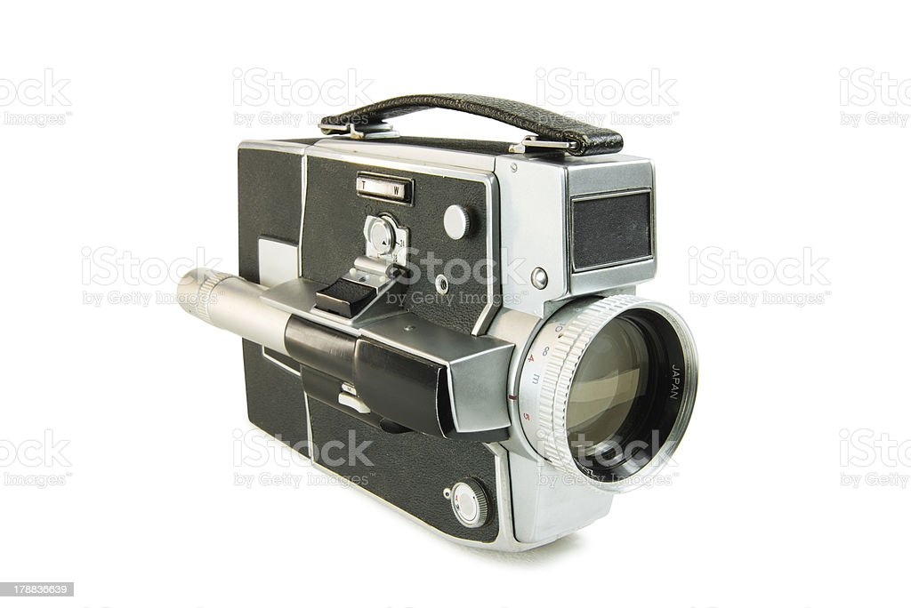 Super 8mm film movie camera stock photo