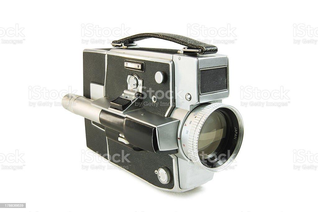 Súper 8 mm film película de cámara - foto de stock
