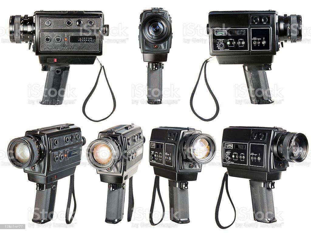 Super 8mm sound movie camera stock photo