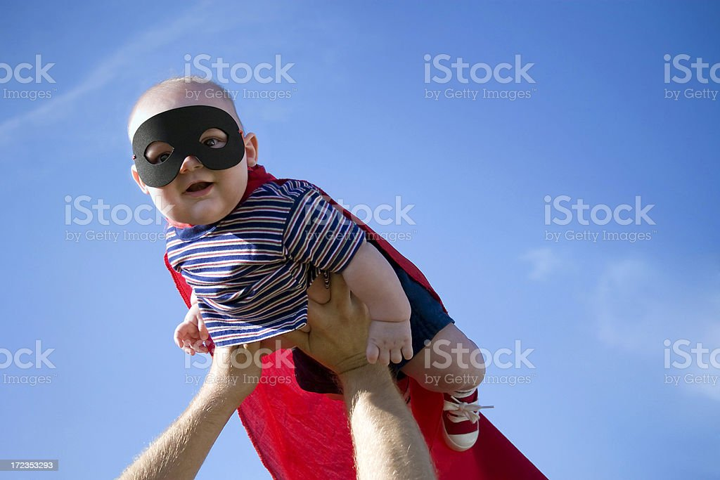 Super Baby royalty-free stock photo