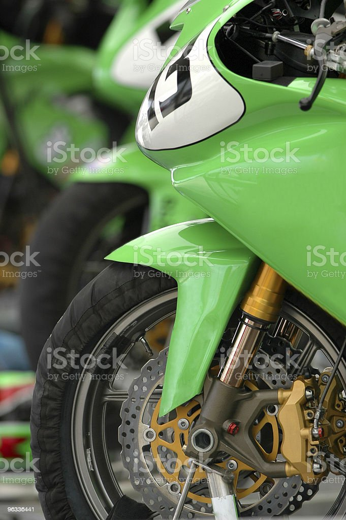 Super Bikes royalty-free stock photo