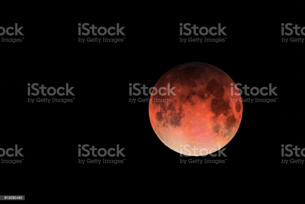 Super blutrote Mond – Foto
