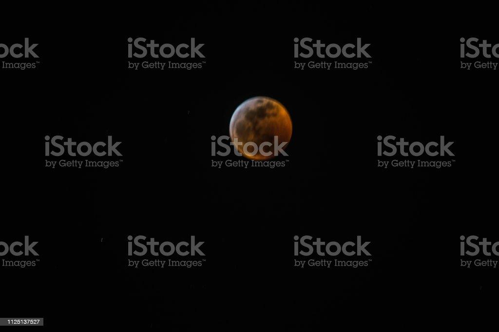 Super Blood Wolf Moon Lunar Eclipse 2019 from Playa Vista, CA