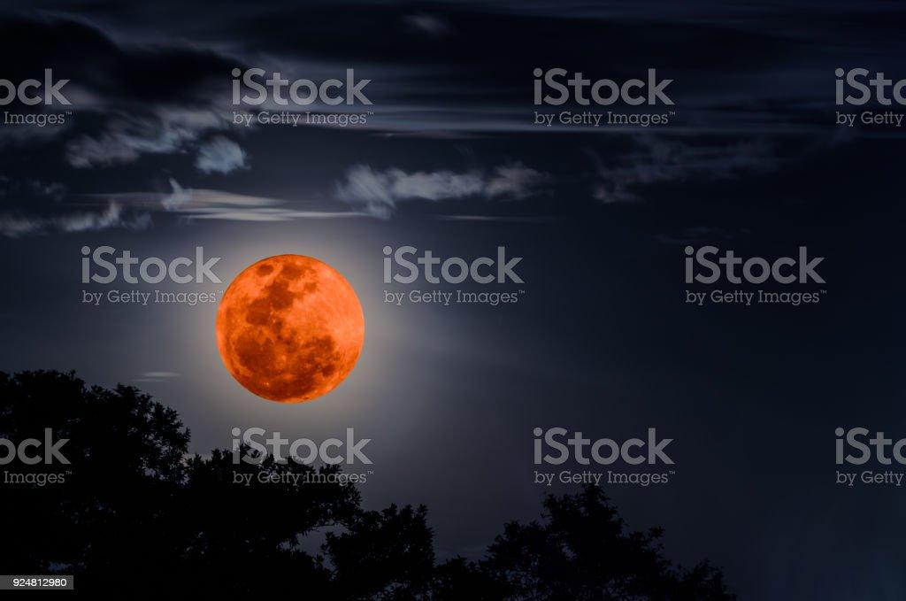 Super blaues Blut-Mond – Foto