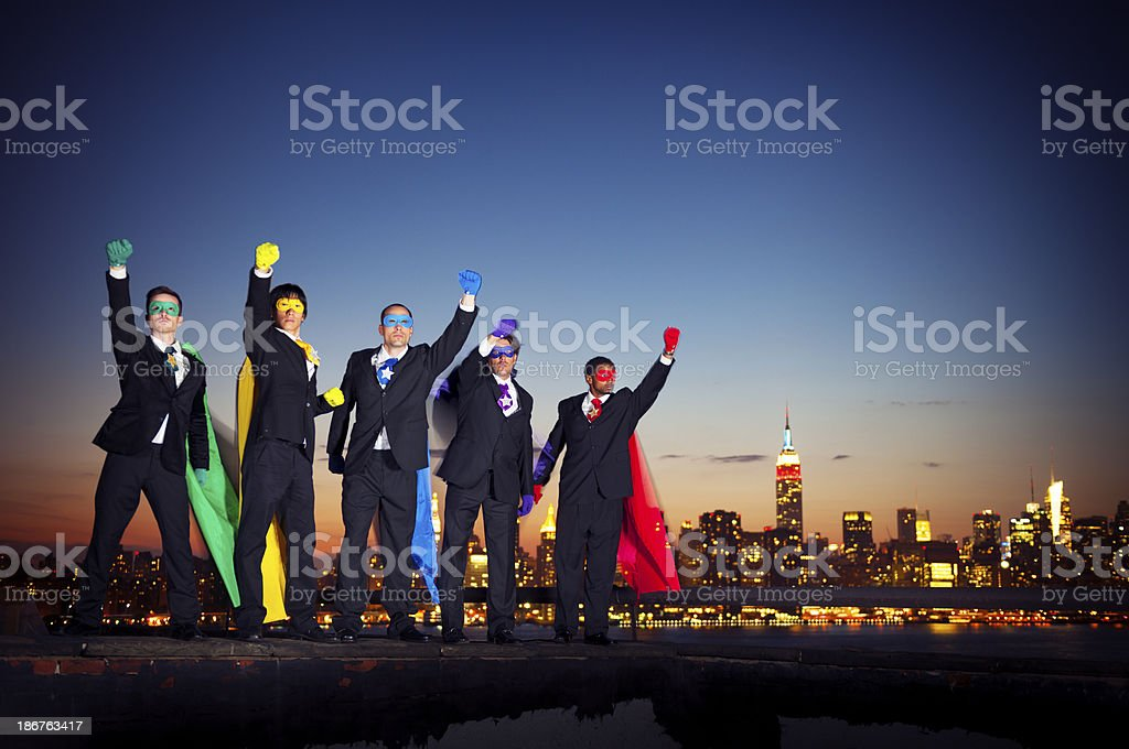 Super Business royalty-free stock photo