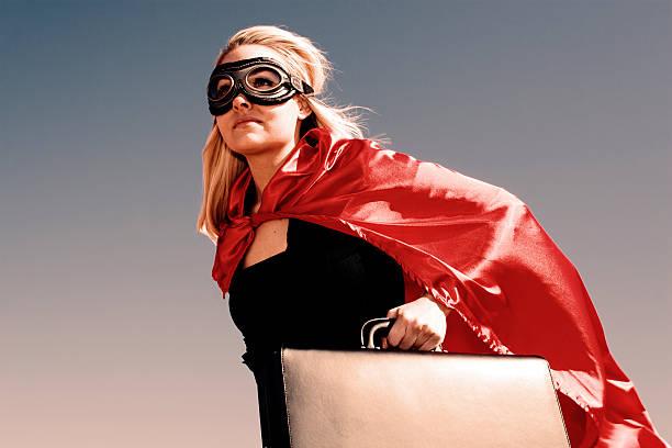 super geschäftsfrau - damen umhänge stock-fotos und bilder