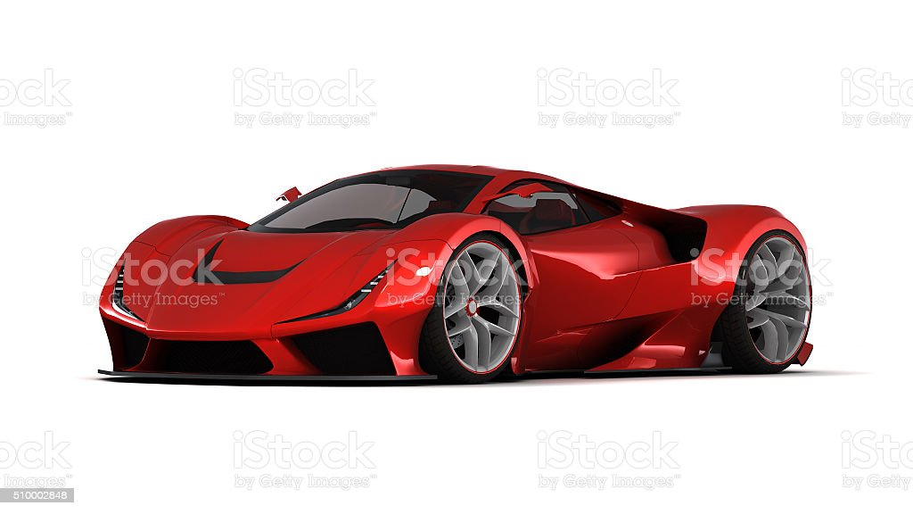 Super Car Low stock photo
