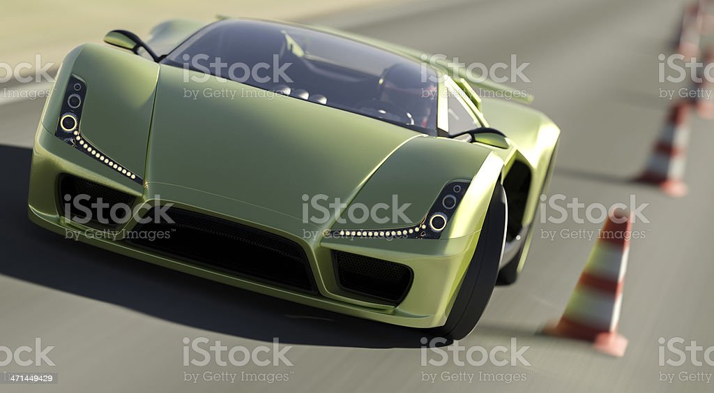 Super Car stock photo