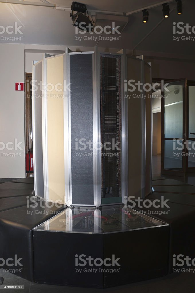 Super computer royalty-free stock photo