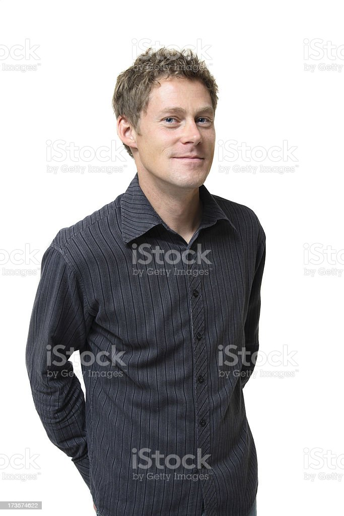 Super Cute Man royalty-free stock photo
