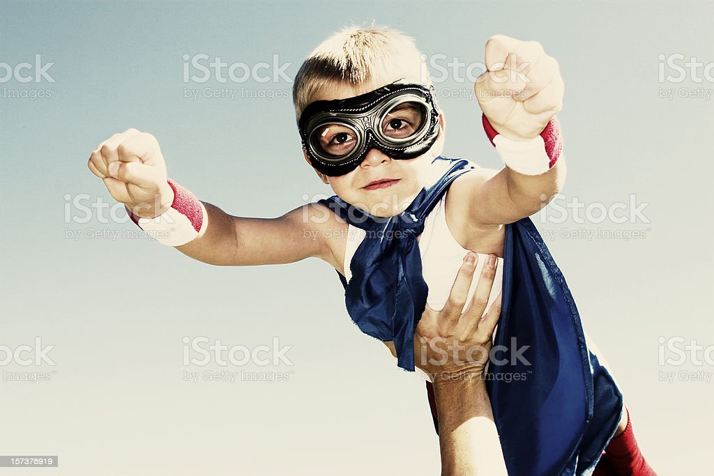 Super Flyaway royalty-free stock photo