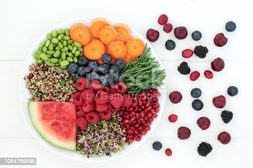 801463056istockphoto Super Food for Fitness 1054766598