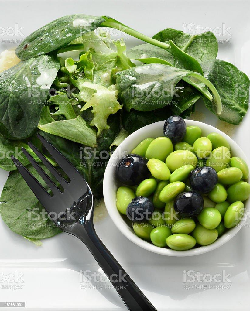 Super Food Salad 2 royalty-free stock photo